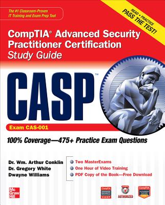Casp Comptia Advanced Security Practitioner Certification Study Guide By Conklin, William Arthur